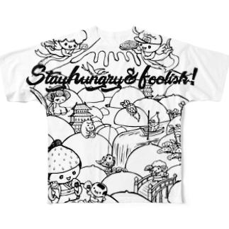 みるく滝桃源郷2 Full graphic T-shirts