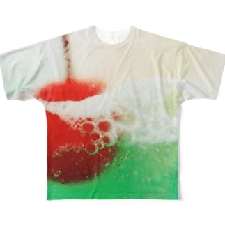 """""""クリームソーダの様式美"""" Full graphic T-shirts"""