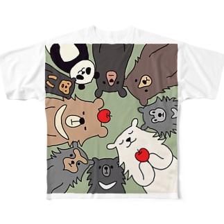大集合 Full graphic T-shirts