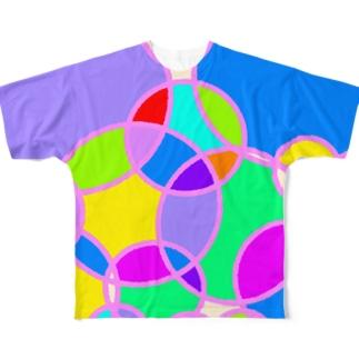 アサガオ Full graphic T-shirts