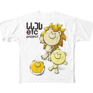ししコレ 進化の雫C Full graphic T-shirts
