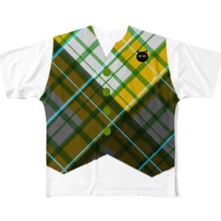 ベストY フルグラフィックTシャツ