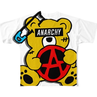 ANARCHY BEAR CO Full graphic T-shirts