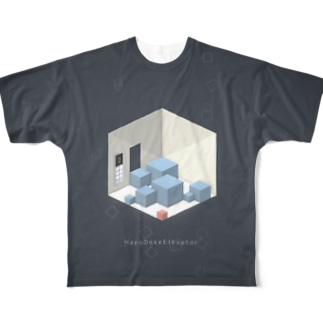 HayoDokeElevator Full graphic T-shirts