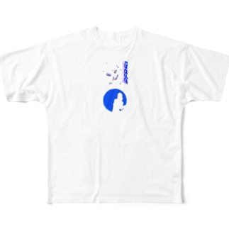 """""""pepsi girl"""" Full graphic T-shirts"""