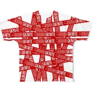 GK NITE Full graphic T-shirts