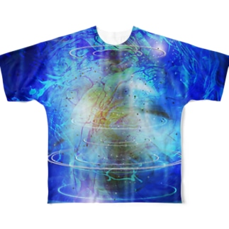 MARBLE&CHAOS Full graphic T-shirts