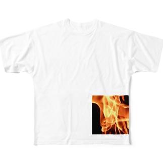 炎中 Full graphic T-shirts