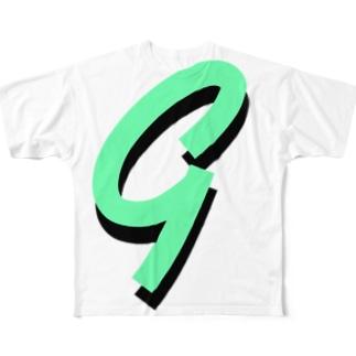 GREENS Full graphic T-shirts