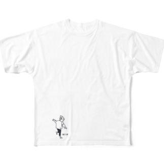 can't stop Full graphic T-shirts