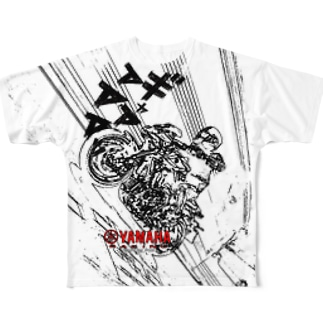 バイクTシャツ Full graphic T-shirts