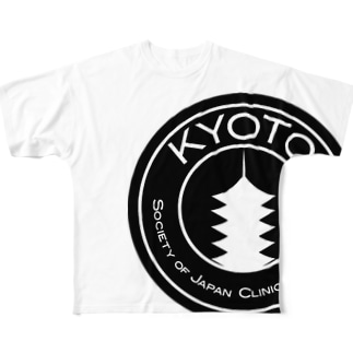 KYOTO SJCD (Black ver.) Full graphic T-shirts