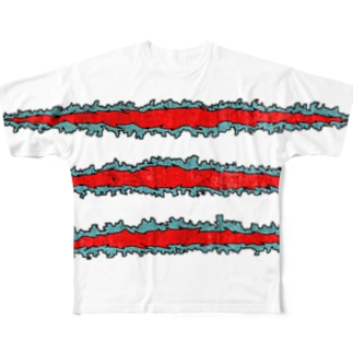 TSUME@ Full graphic T-shirts