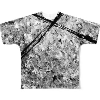 が Full graphic T-shirts