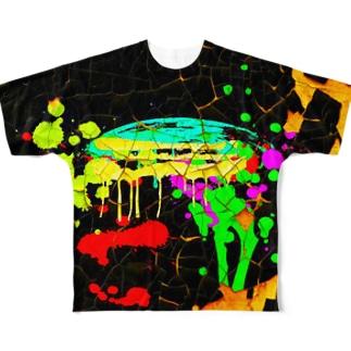 paint festa Full graphic T-shirts