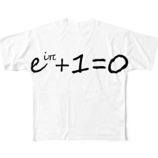 オイラーの等式 Full graphic T-shirts