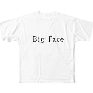 大きくたっていいじゃないか! Full graphic T-shirts