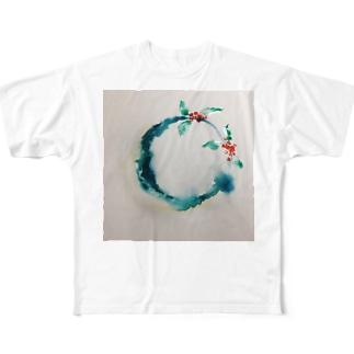 天使の輪 Full graphic T-shirts