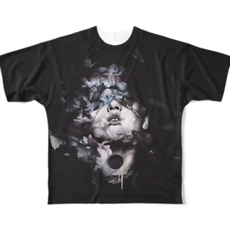 """""""HOLLOW"""" #01 Full graphic T-shirts"""