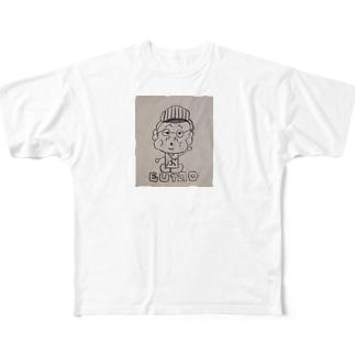 ぶたお Full graphic T-shirts