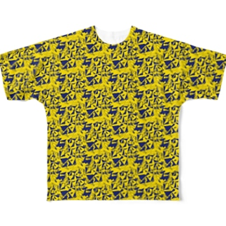 JUMP with shingle Full graphic T-shirts