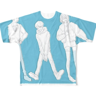 男女 Full graphic T-shirts