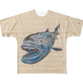 メガマウス Full graphic T-shirts
