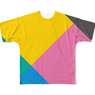 武田菱 Full graphic T-shirts