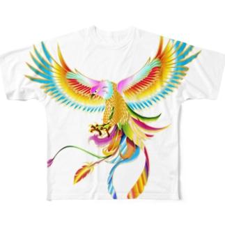 鳳凰鷲 Full graphic T-shirts
