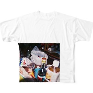 アフター Full graphic T-shirts