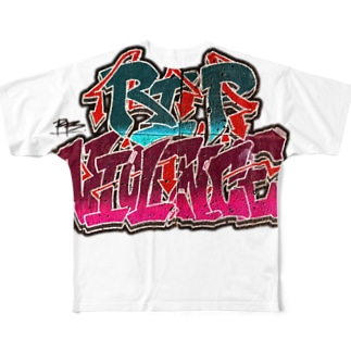 R.I.P-V Full graphic T-shirts