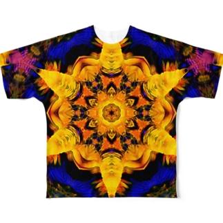 ヘキサグラム_001 Full Graphic T-Shirt
