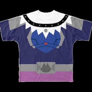 キャットCのこうじょうけんがくのキャットCなりきりTシャツ&more Full graphic T-shirts