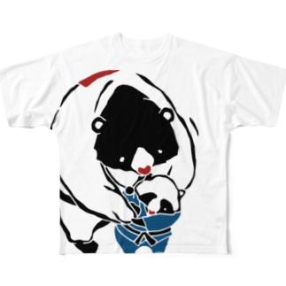 柔道 Judo Full graphic T-shirts