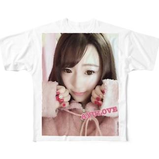 AYULOVETシャツ Full graphic T-shirts
