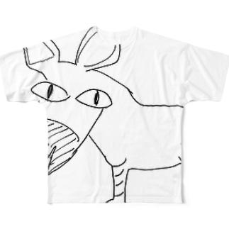ノート プロトタイプVer Full graphic T-shirts