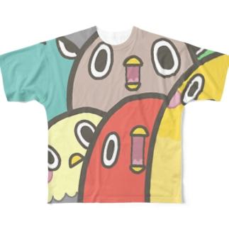 インコインコ Full graphic T-shirts