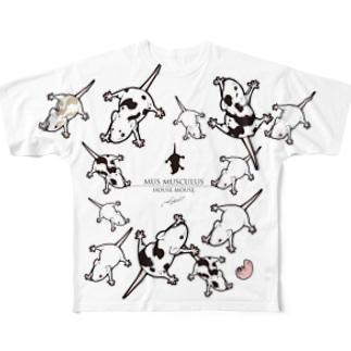 マウス Full graphic T-shirts