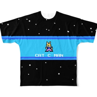 CAT C MAN STAGE Full graphic T-shirts