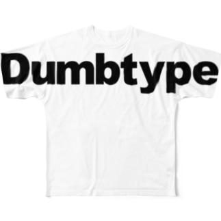 barだむたいぷ -b【復刻】 Full graphic T-shirts