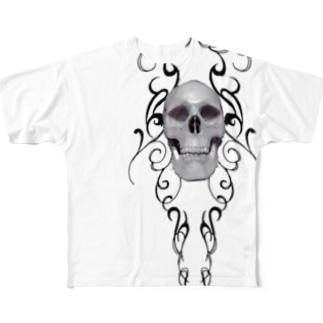 スカル Full graphic T-shirts