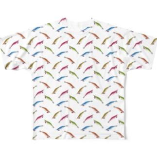 エギ Full graphic T-shirts