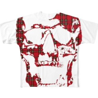 CRY OF THE SKULL Full graphic T-shirts