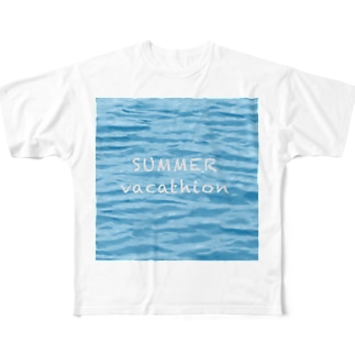 SUMMER vacathion Full graphic T-shirts
