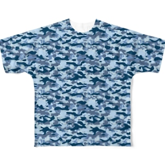 CAMOUFLAGE_FB_1 Full graphic T-shirts