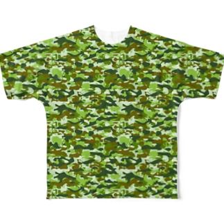 CAMOUFLAGE_FB_2 Full graphic T-shirts