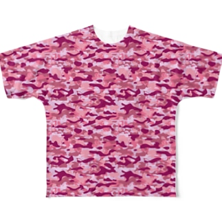 CAMOUFLAGE_FB_3 Full graphic T-shirts