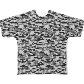 CAMOUFLAGE_FB_4 Full graphic T-shirts