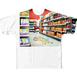 Kailua Supermarket Full graphic T-shirts
