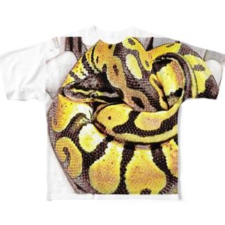 LRKのボールのたまちゃん Full graphic T-shirts